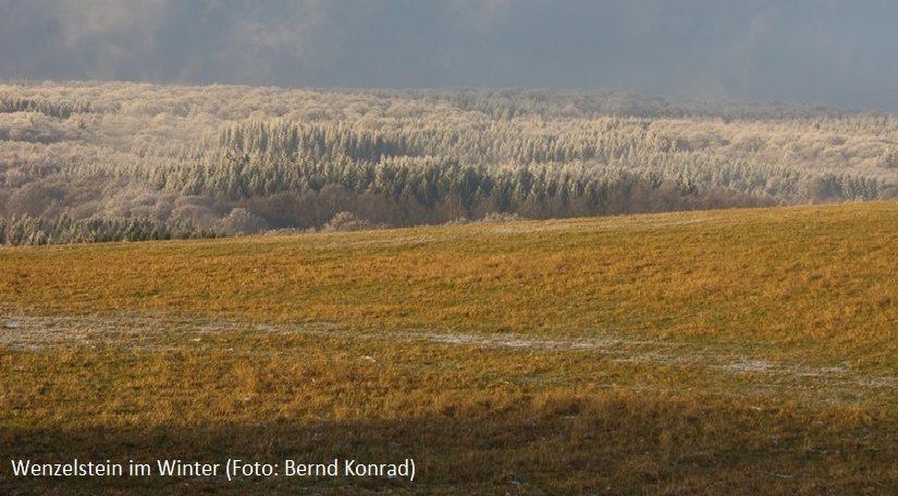 Wenzelstein im Winter Foto: Bernd Konrad)